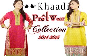 Khaadi Pret Wear 2014