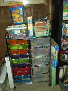 Lego Bin Organizing