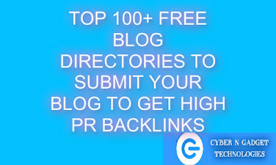 100+ Top Free Blog Directories to Submit Your Blogs To Get High PR Backlinks- ProBlogger Tips N Tricks