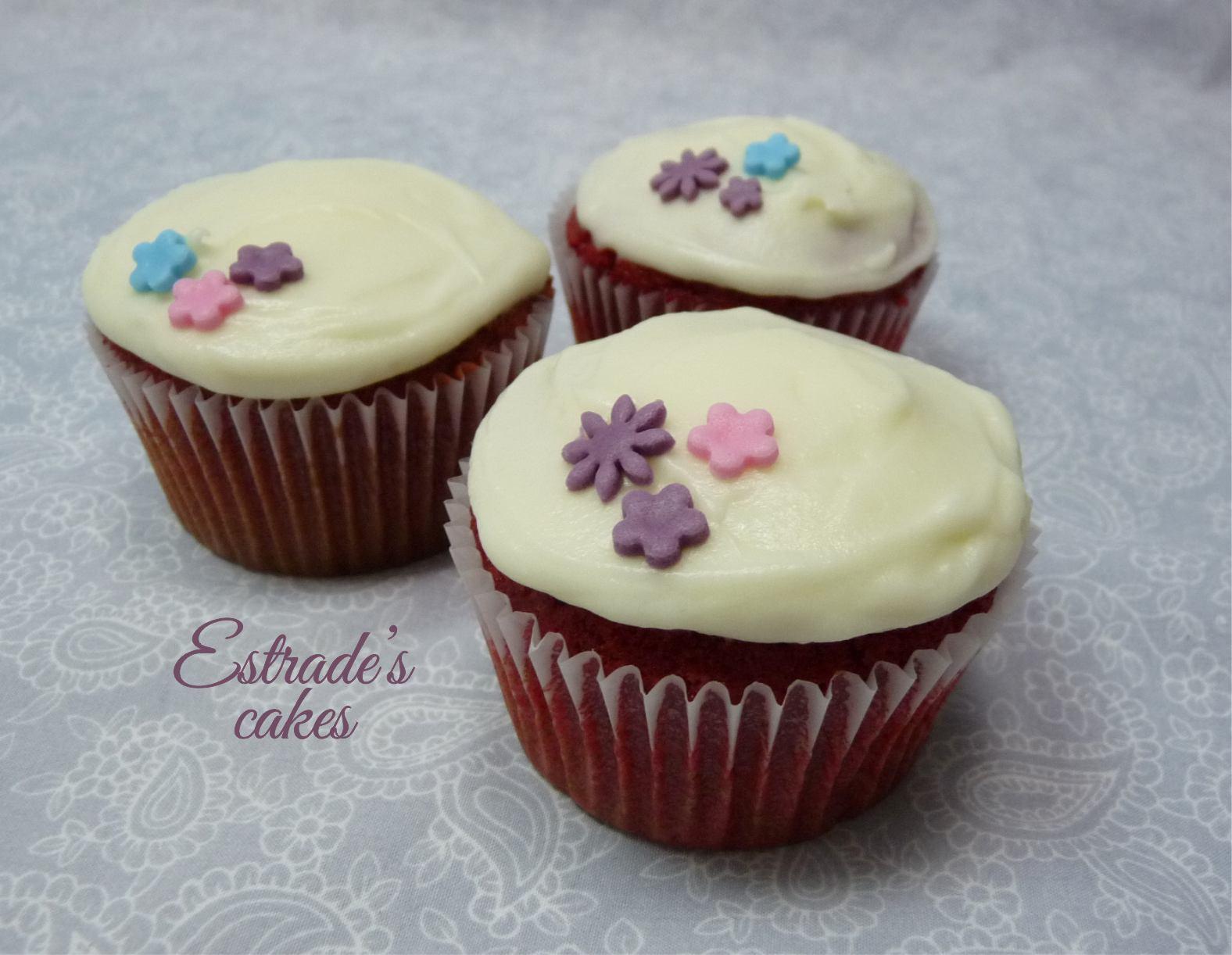 receta de cupcakes red velvet - 1