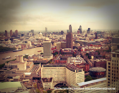 Saint Paul y Swiss Re desde London Eye