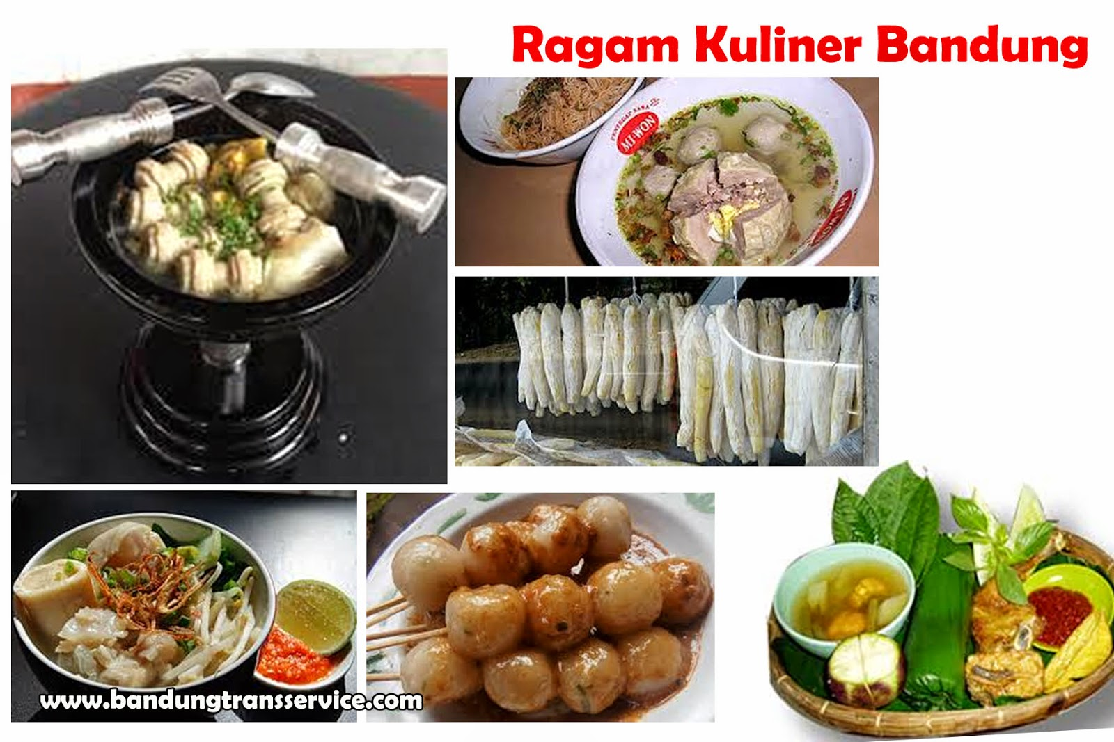 Keunikan Dan Keragaman Kuliner Bandung