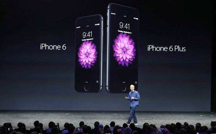 Apple Unveils iPhone 6 and iPhone 6 Plus
