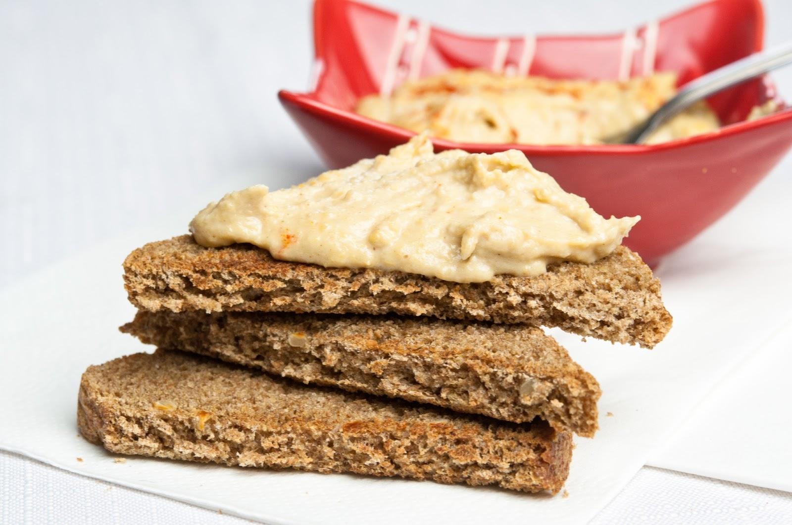 Хумус - паста от нахут и тахан