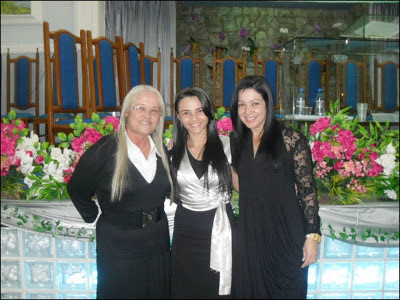 Ninfa e Francielle Miranda e Calita