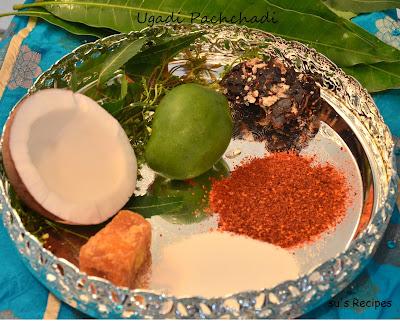 Ugadi festival, recipes, ugadi, bevu-bella- gudi padwa, padva, jaggery, mango, mango flower, salt, chilly, coconut