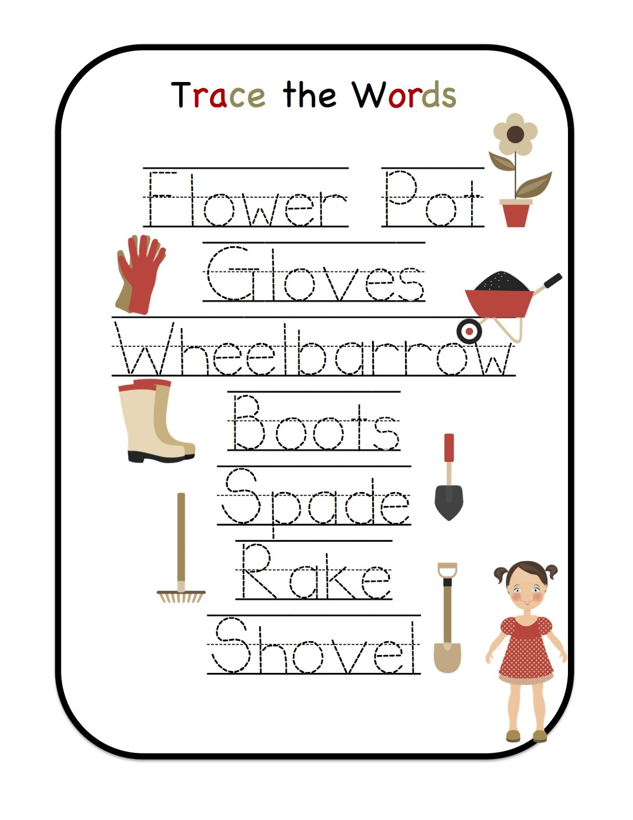 Garden Fun Printable Preschool Printables
