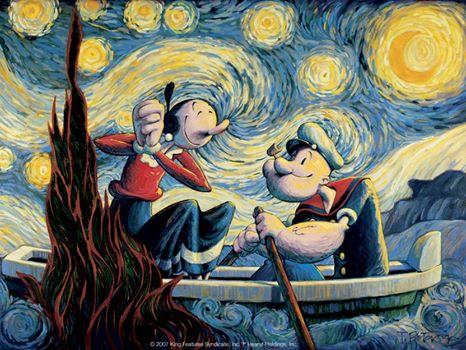 Exposição 85 anos do Popeye