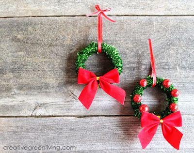 I love graff durand fun diy christmas ornaments for Christmas decorations easy to make at home