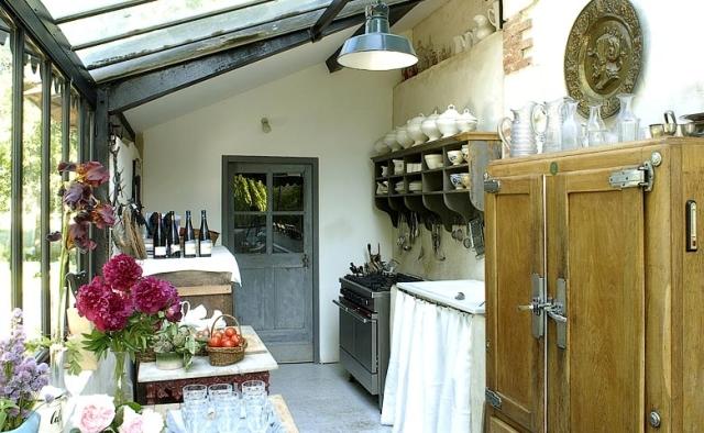 Una extraordinaria casa de campo francesa extraordinary - Casas de campo decoracion interior ...