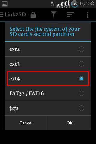 Cara memindahkan aplikasi dari insternal SD Card ke Eksternal SD Card menggunakan Link2SD 2