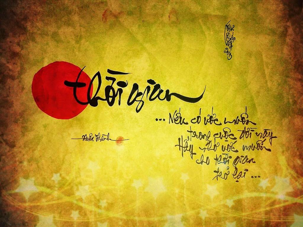 Thư pháp Xuân Thành - những tác phẩm chữ nổi bật