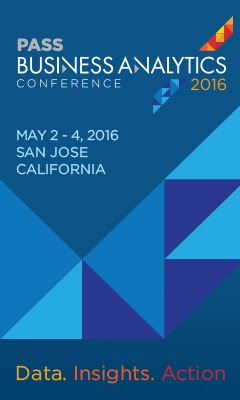 PASS Business Analytics 2016