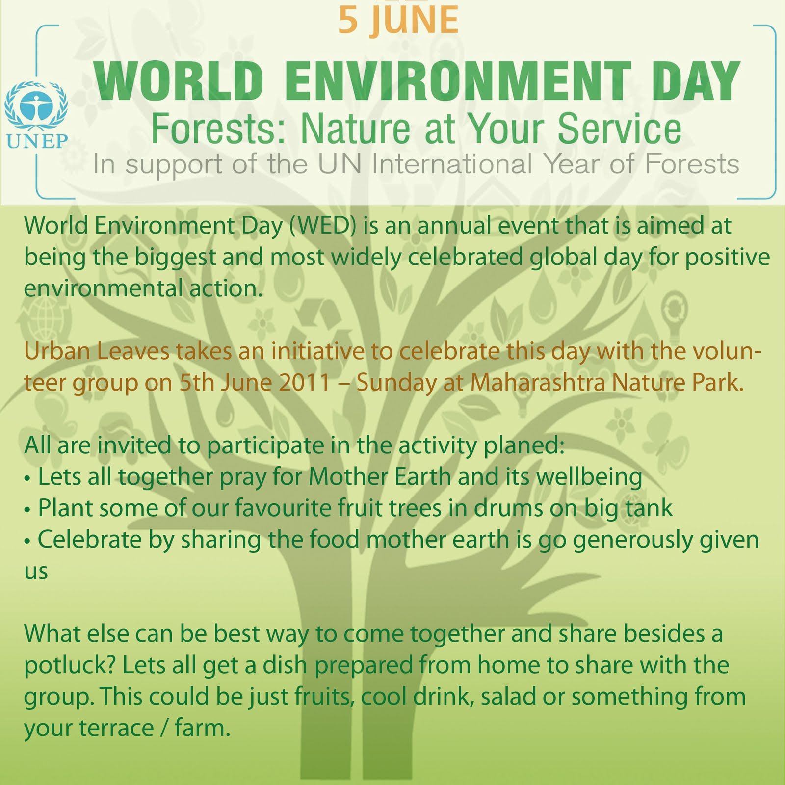 Health Awareness Essay Urban Leaves Celebrates World Environment Day On Th June  At Mnp Proposal Argument Essay Examples also Proposal Essay Topics Examples Urban Leaves India Urban Leaves Celebrates World Environment Day On  Essay Thesis Statement Examples