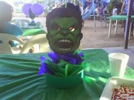 Centros de Mesa de Hulk, parte 1