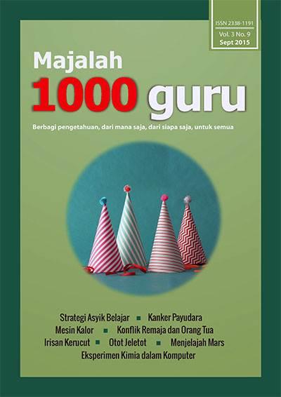 Majalah 1000 Guru Edisi September 2015