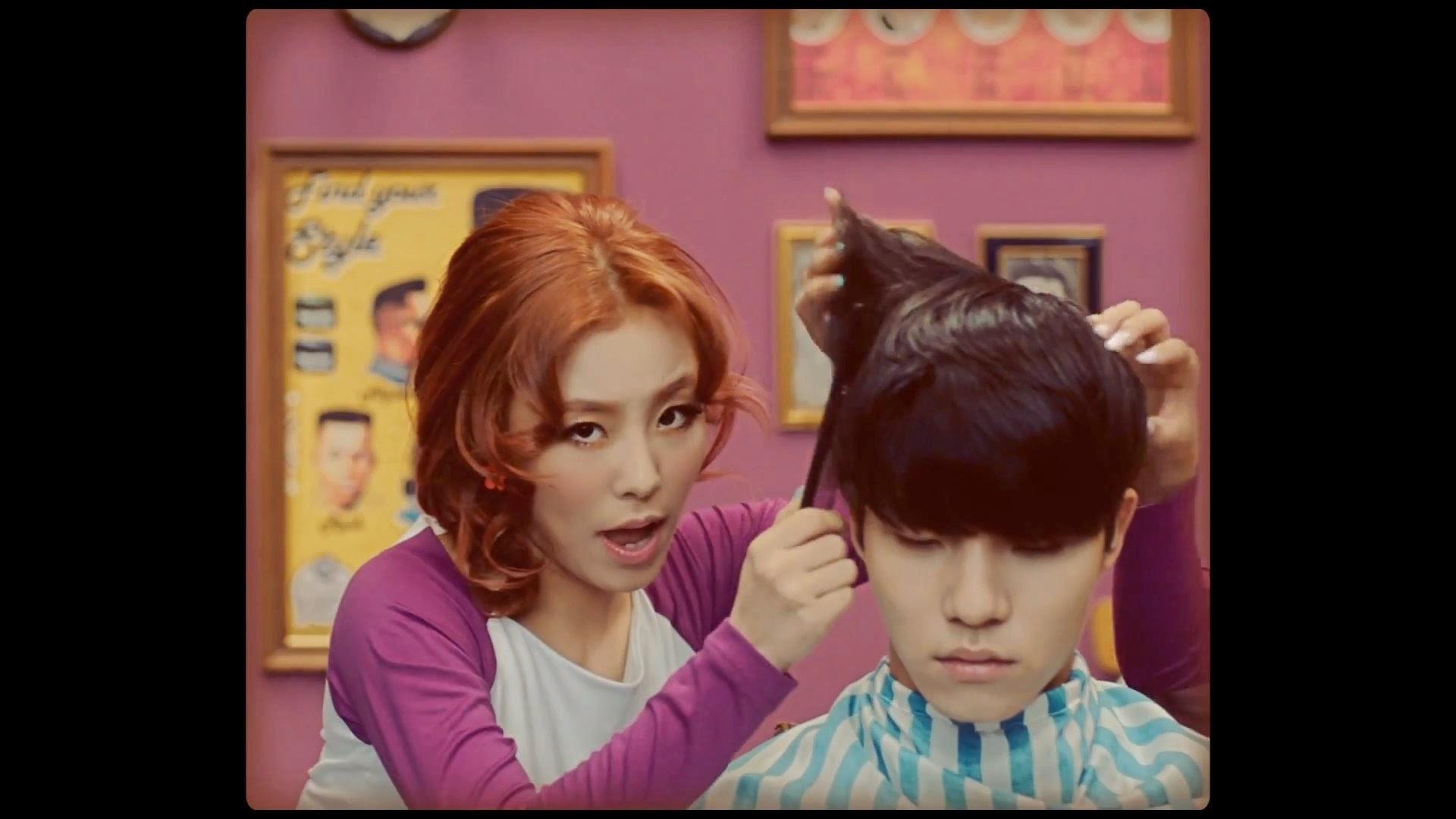 Mamamoo's Wheein in Ahh Oop MV
