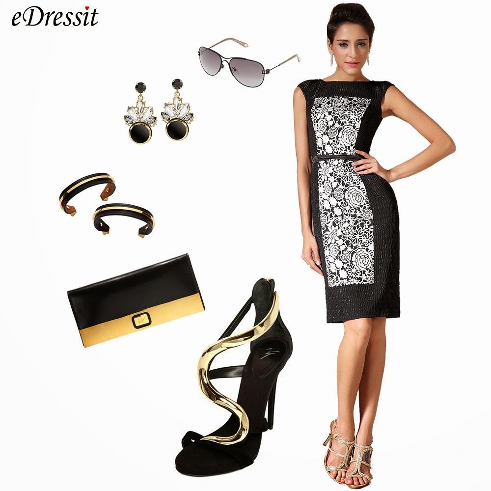 Черное короткое платье как должно сидеть