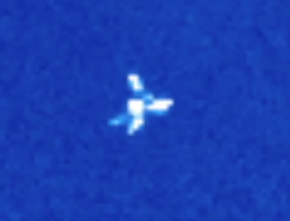 Large UFO Between Sun and Earth 2015, UFO Sighting News