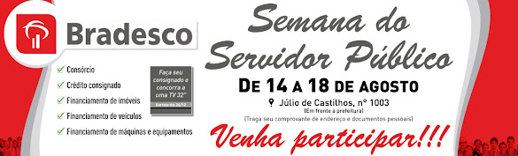 Semana do Servidor Público - Bradesco