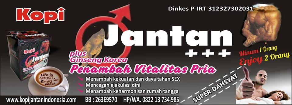 KOPI JANTAN JAKARTA