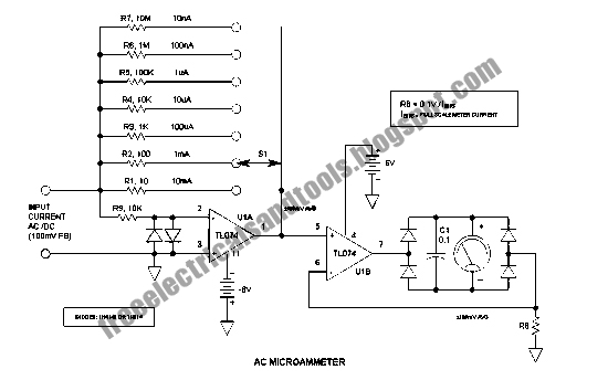 free schematic diagram  ac