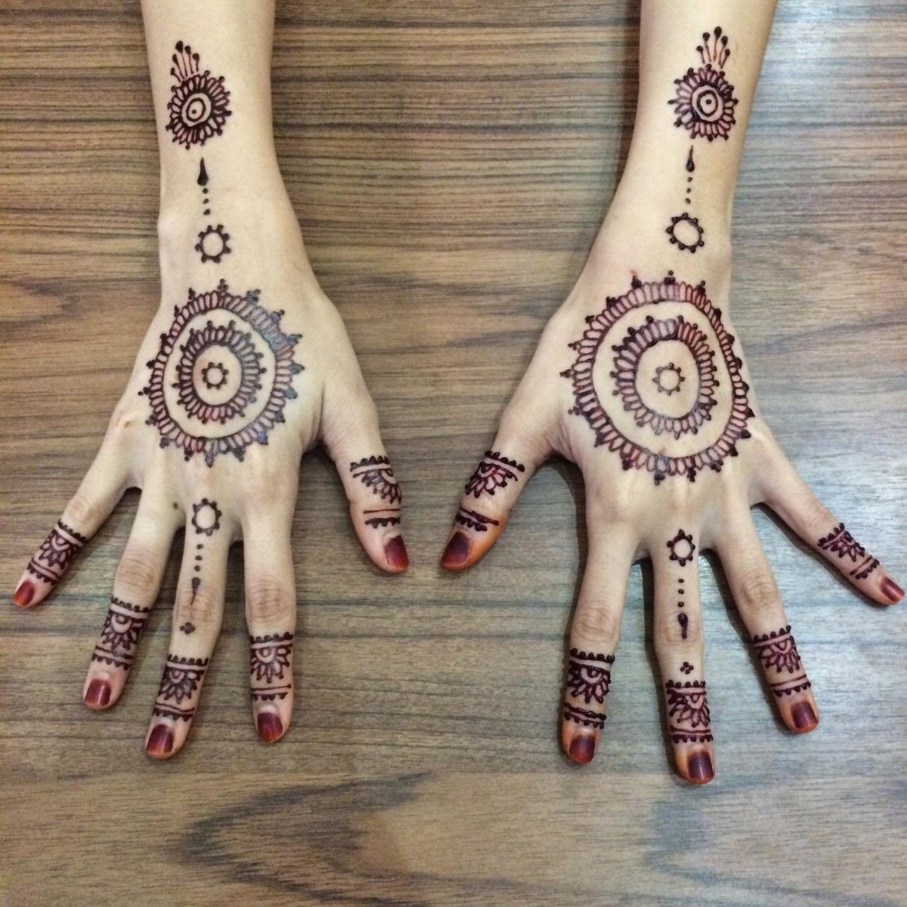 NurieSyaNadia Henna By Sashaxoza Colorsbysasha