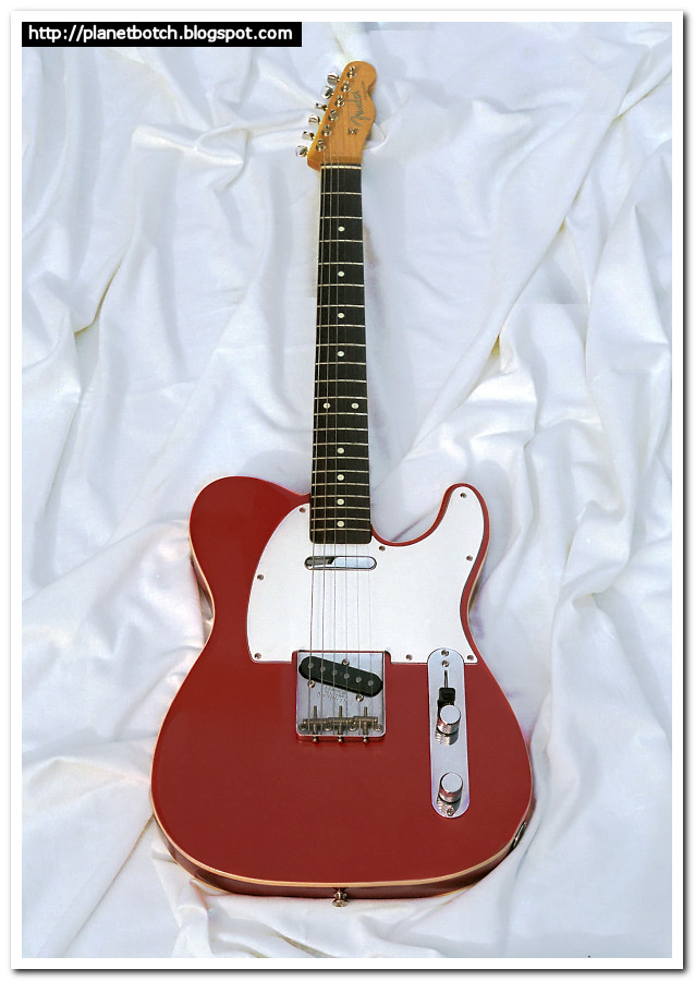 1985 Fender MIJ '62 Telecaster reissue candy apple red