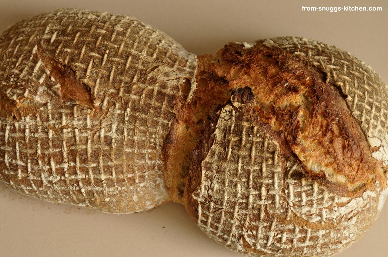 Weizenmehl Brot