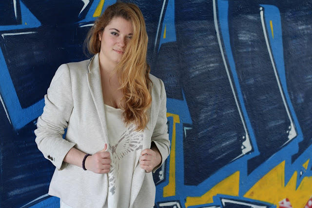 blog mode blazer tenue cool