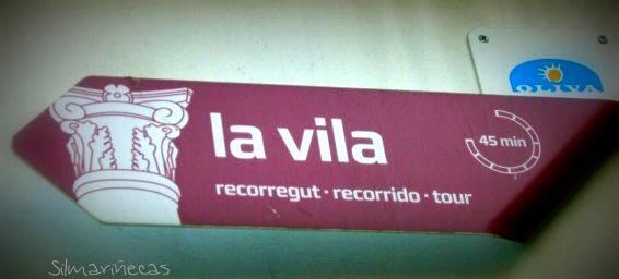 La vila de Oliva Valencia