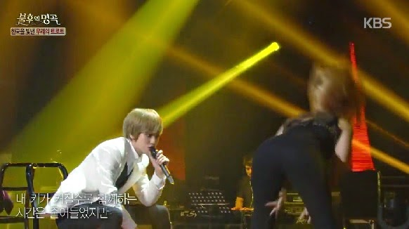 Teen Top's Changjo & Niel perform 'Sister' on Immortal Songs 2