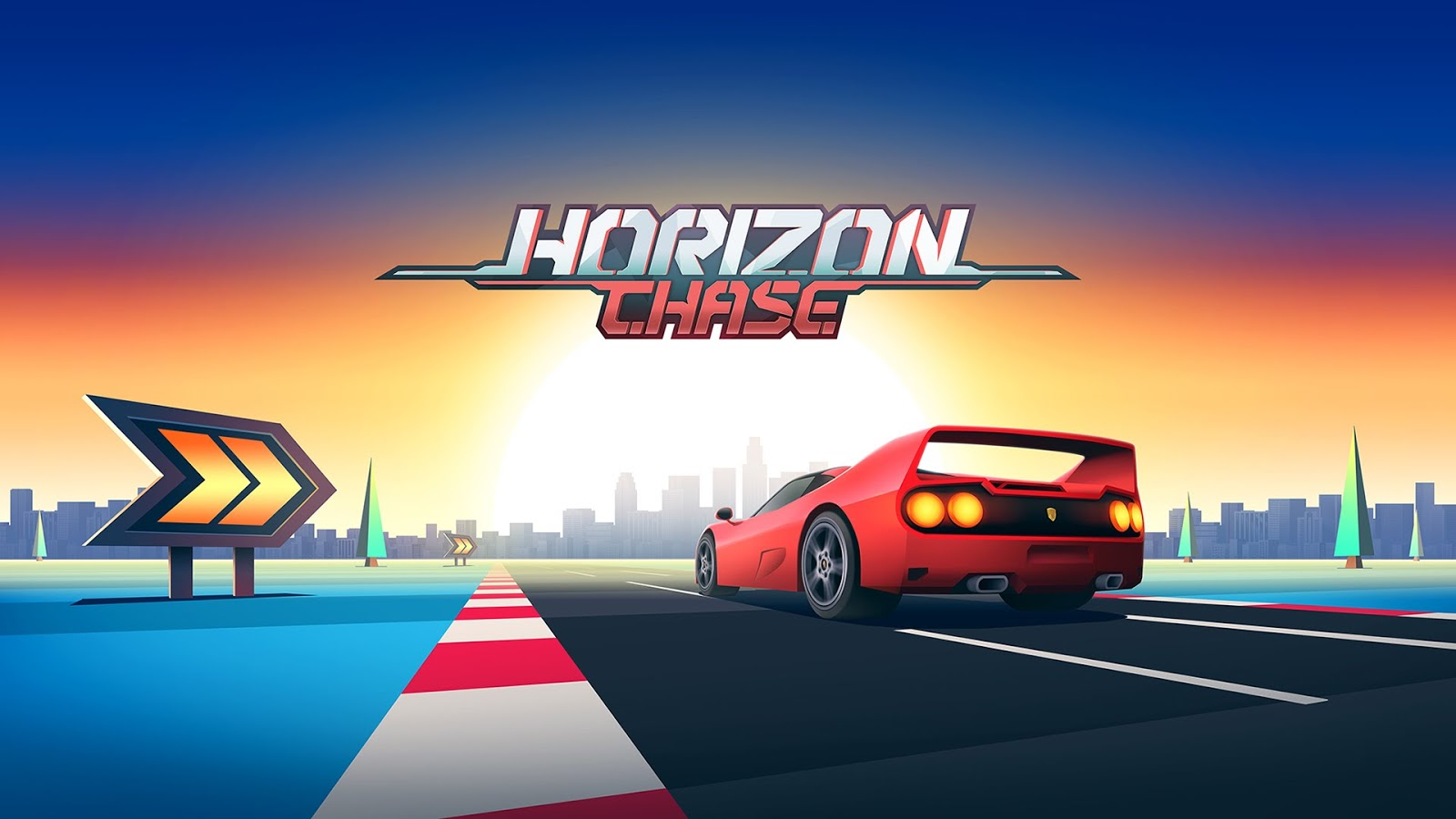 HORIZON CHASE Gameplay IOS / Android