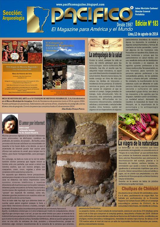 Revista Pacífico Nº 183 Arqueología
