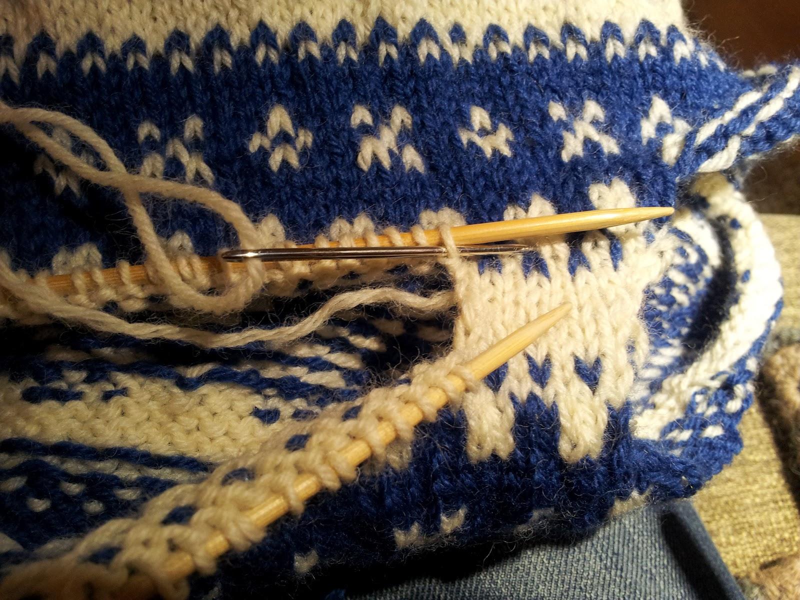 sammenmasking av strikk