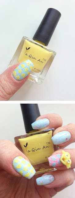 Best yellow stamping polish born pretty store