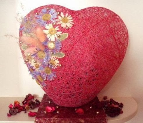 C mo hacer un coraz n grande para san valentin - Como hacer un corazon con fotos ...