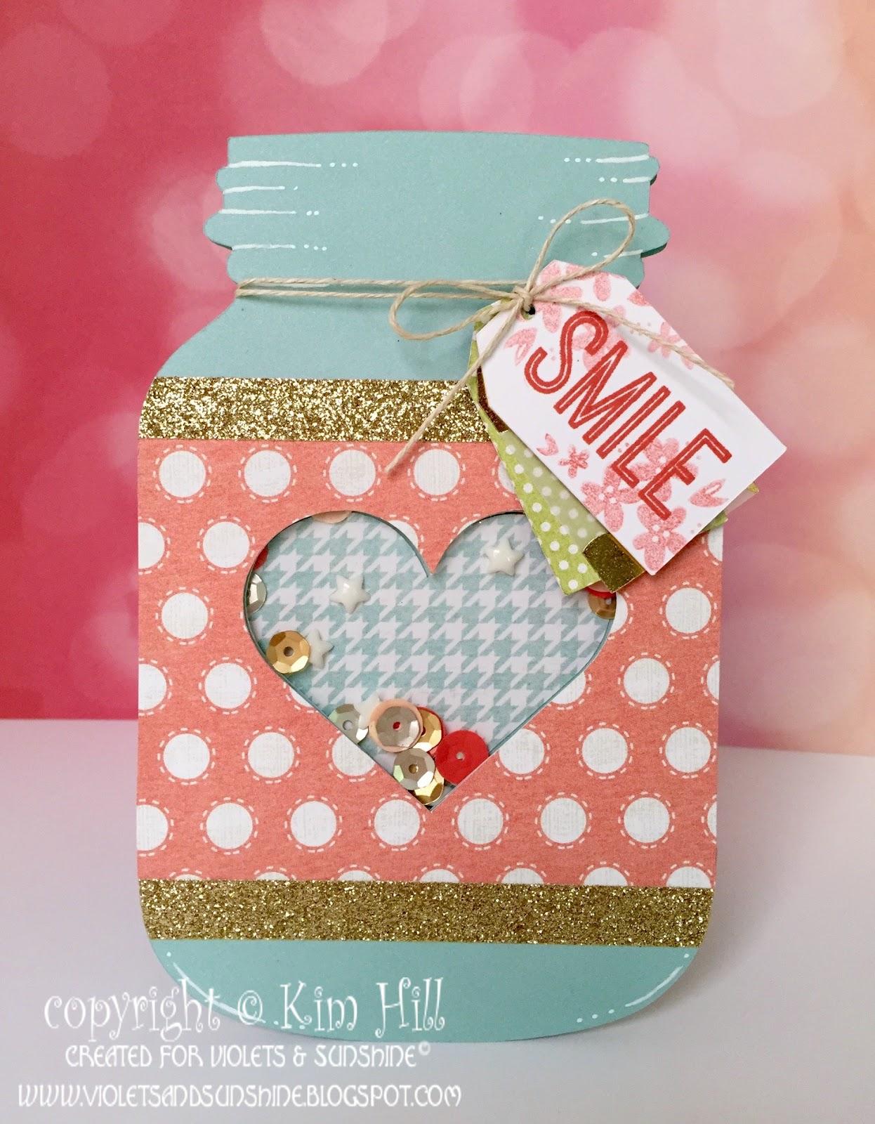 Violets & Sunshine: Rose Blossom Blog Hop: The Artistry of a Shaker ...