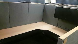 Haworth Premise used modular office cubicles