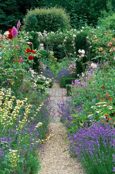 Um Jardim Para Cuidar~ Plantas Bordaduras Jardim