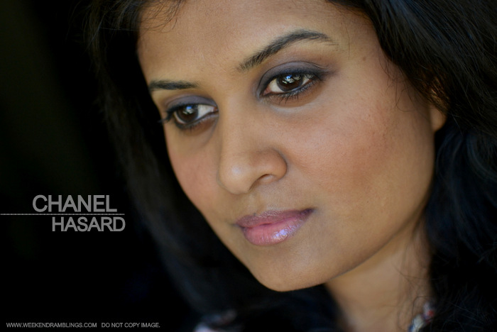 Chanel Ombre Essentielle Soft Touch Single Eyeshadows Hasard matte lavender Fall 2013 Superstition Makeup Collection Photos Swatches FOTD Review Looks Indian Darker Skin Beauty Blog