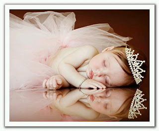Picture of cute girl kid sleeping beauty