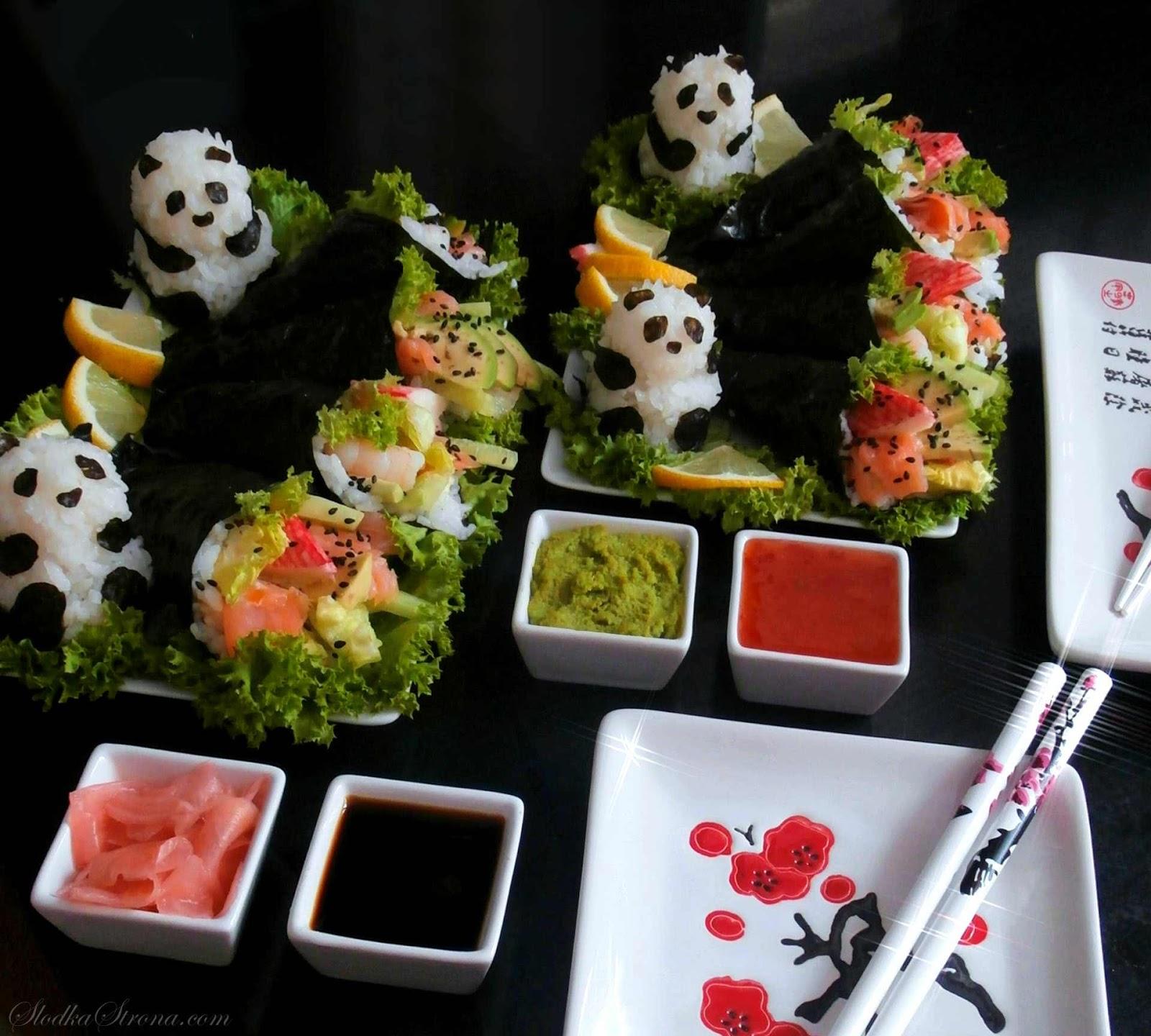Sushi - Temaki - Przepis - Słodka Strona