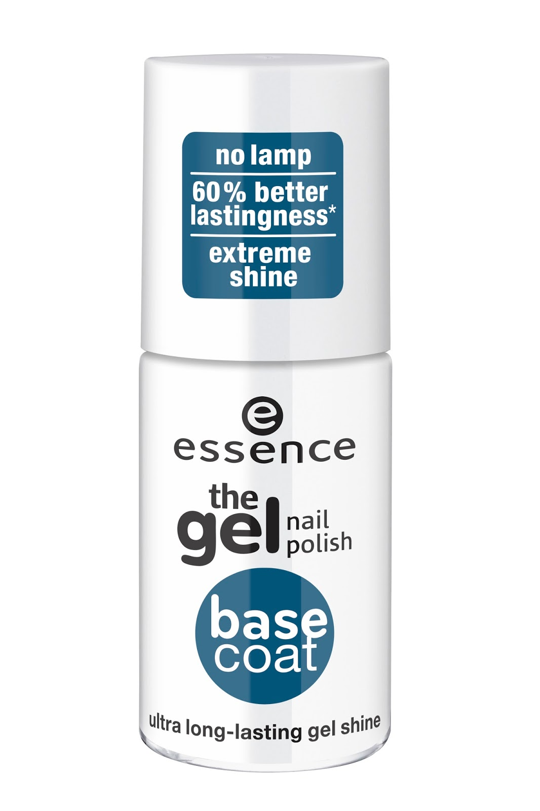 Essence the gel nail polish base coat & top coat