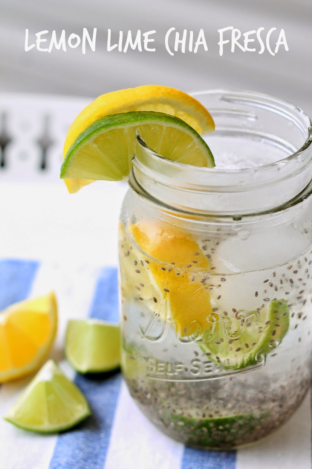 Louisiana Bride: Lemon Lime Chia Fresca