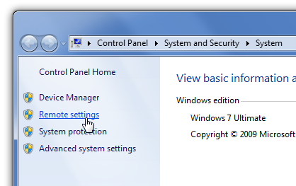 remote desktop connection manager windows 7