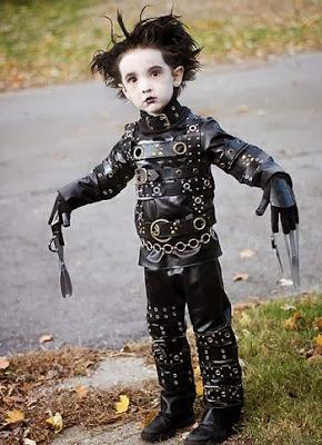 Cosplay Edward Mãos de Tesoura Criança