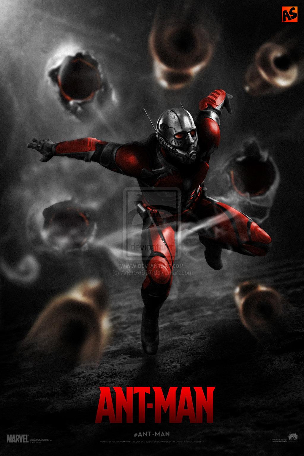marvel ant man poster
