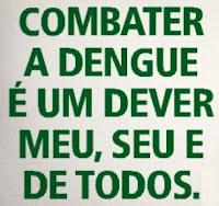 VAMOS TODOS COMBATER O MOSQUITO DA DENGUE