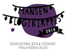 MANSEN BLOGIKIRPPIS 22.4.!